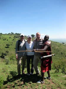 John, a Masai tribesman, takes us on a walk in his world.