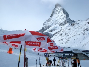 the Matterhorn commands the skyline