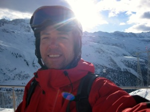 sun, snow and skiing demand a selfie.
