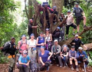 The 2014 Kilimanjaro Outward Bound team